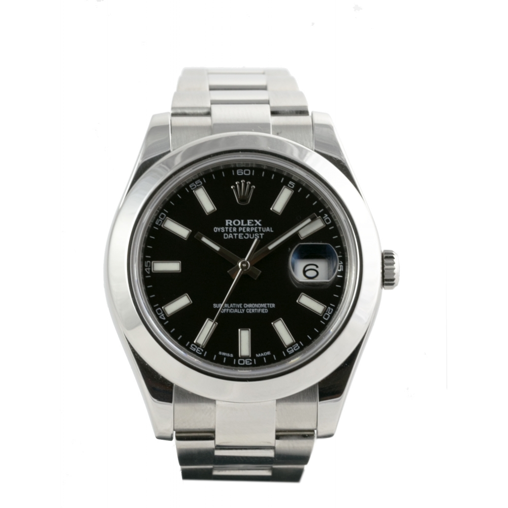 15ebabf3178 Rolex Datejust 2 Noir. Reference  116300.  Last items in stock